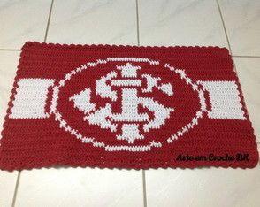 Tapete Crochê Futebol Internacional