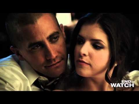 "Jake Gyllenhaal and Anna Kendrick in incendiary dance from the film ""End of Watch"" - YouTube"