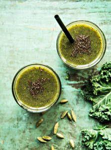 Lämmin vihersmoothie | K-Ruoka #smoothie #hotsmoothie