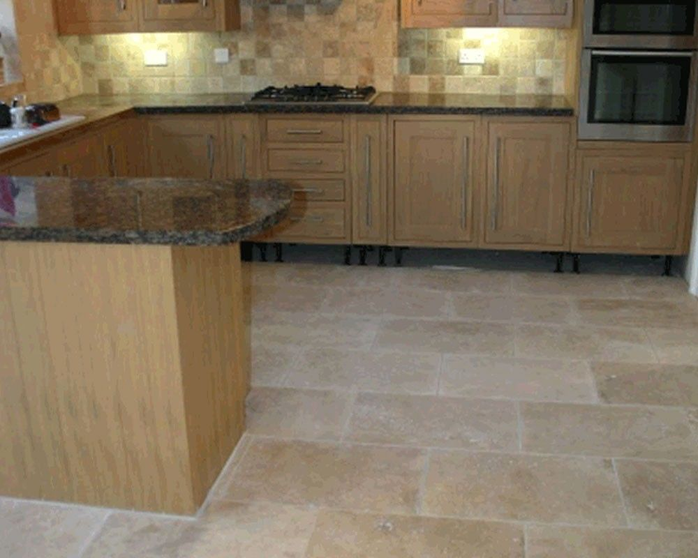 Travertine Light Wall Floor Tile AlMurad Tiles Kitchen - Al murad tiles