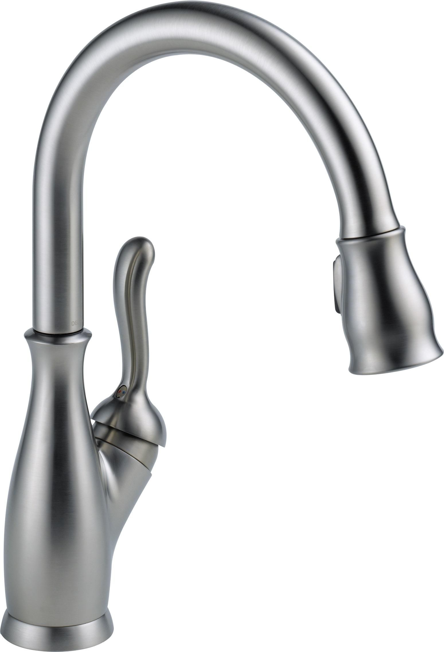 Delta 9178 Ar Dst Leland Single Handle Pull Down Kitchen Faucet Arctic Stainless Touch On Kitchen Best Kitchen Faucets Kitchen Faucet Reviews Kitchen Faucet