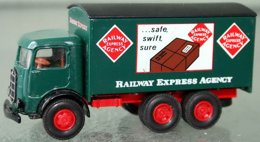 Railroad Express Agency Rea Delivery Truck Hartoy Just Add