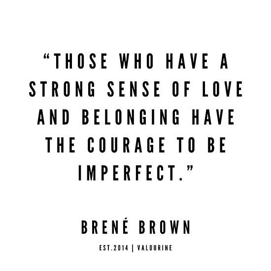 31    Brene Brown Quotes   190524 Poster by QuotesGalore