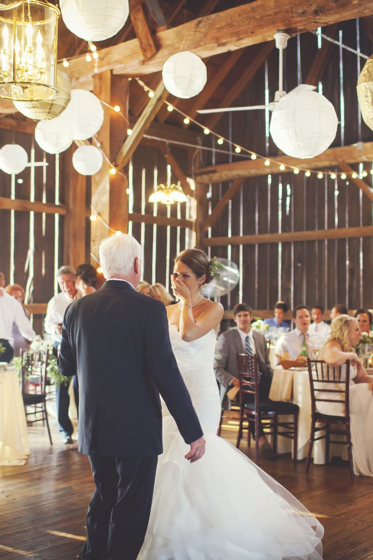 A Rustic Vineyard Wedding At Black Star Farms In Suttons Bay Michigan Rustic Vineyard Wedding Star Farm Father Daughter Dance