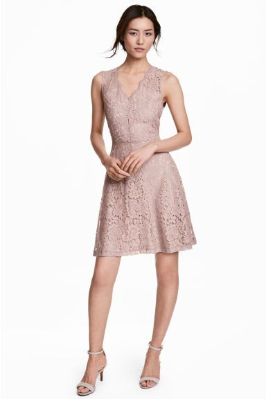 V-neck lace dress   Dresses   Dresses, Lace Dress, Skirts ebba49fa97