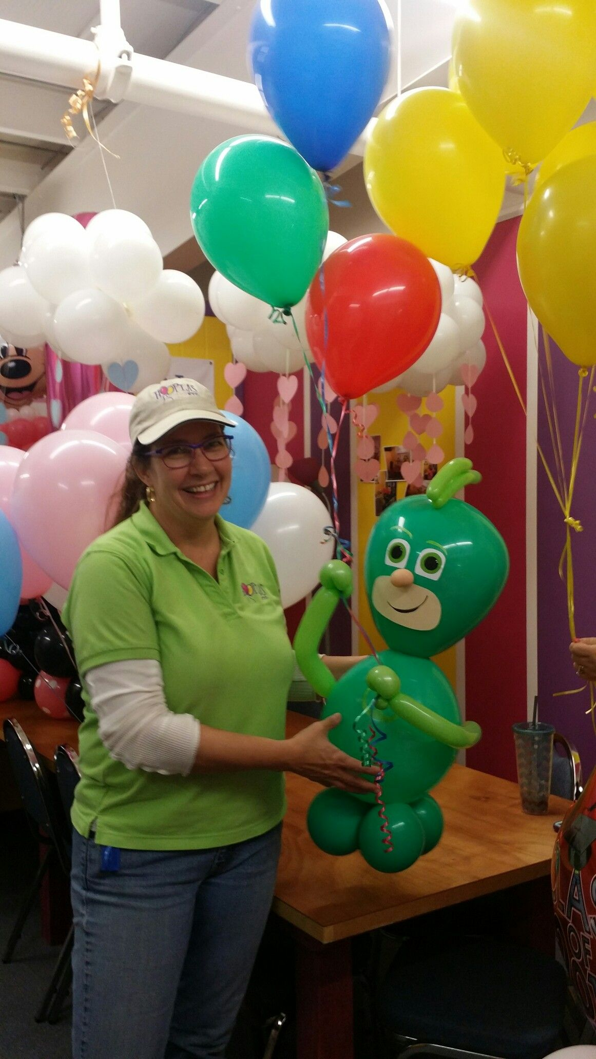 PJ Mask inspired Gecko balloon - Hooplas Etc | Ella's ...