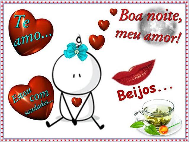 Cartoes Postais De Boa Noite Meu Amor Com Imagens Amor