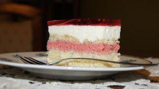 Torty ciasta i ciasteczka Joli: Truskawkowa pychotka