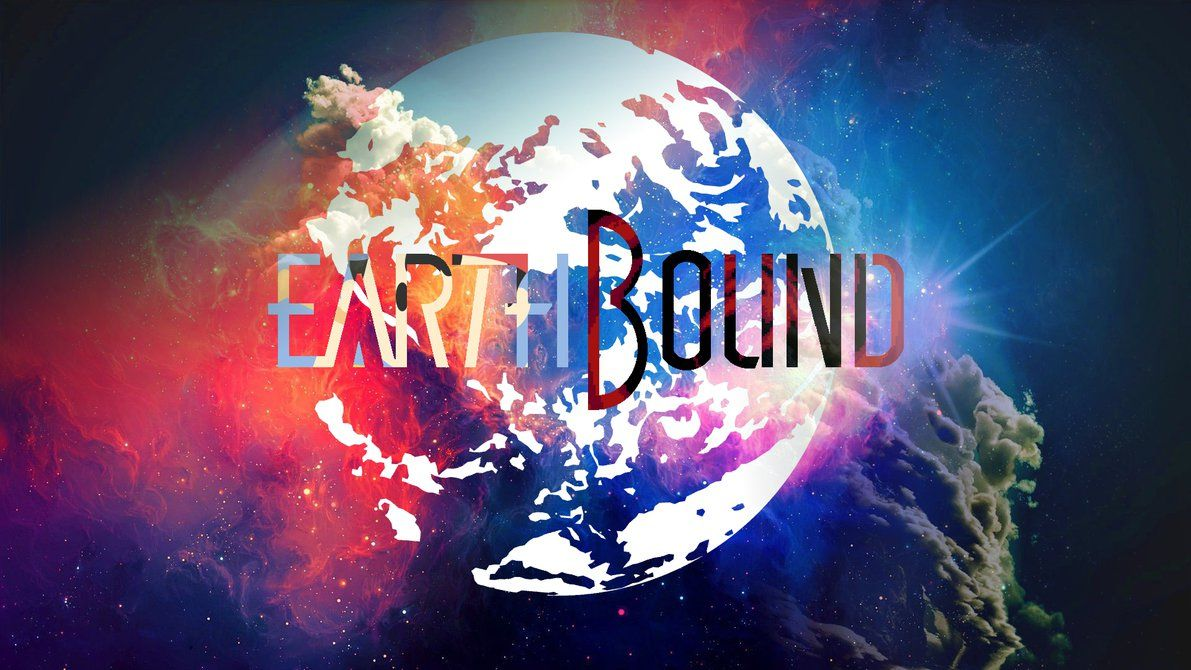 Earthbound Logo Wallpaper Wallpaper Cool Themes Wallpaper Pc