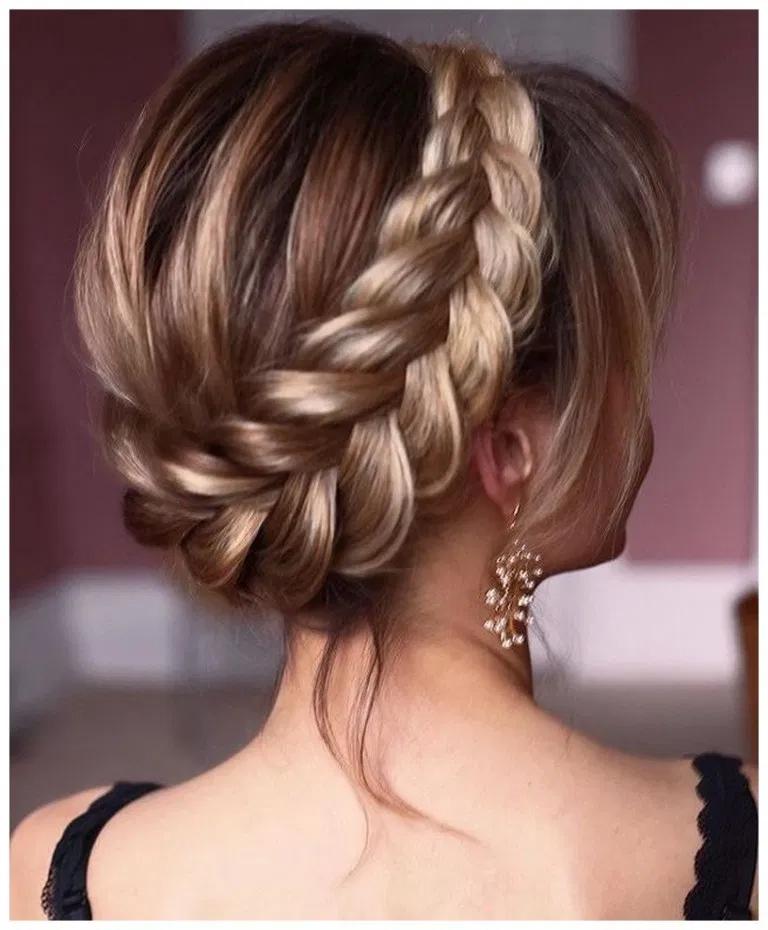 55+ best wedding hairstyles for flower girls 4   Long ...