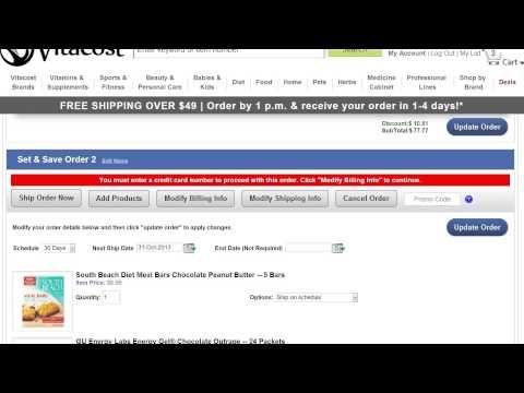 How do I cancel my Set & Save order? - YouTube