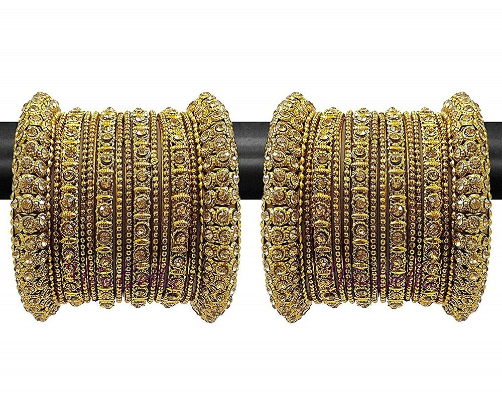 Fashion Jewellery Traditional Gold Plated Bracelet Bangles Set for Girls and Women Indian Jewelry,Indian Bridal Jewelry