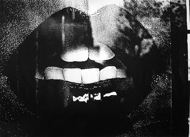 Lips de l'artiste Daido Moriyama
