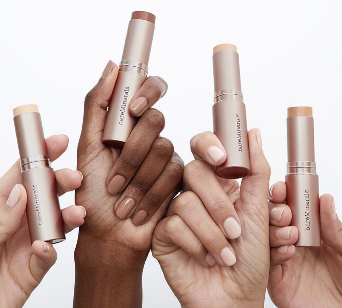 Clean coverage oilfree foundation stick that is water