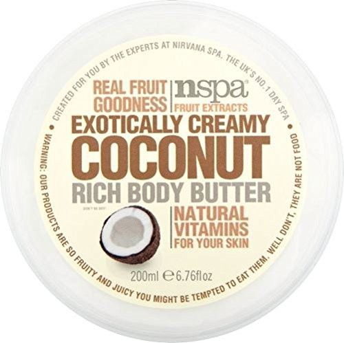 nspa by nirvana spa exotically creamy coconut rich body butter