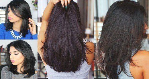 Avoir les cheveux longs et fins