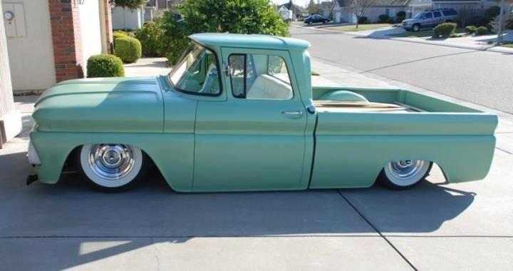 Classic Lowrider Pickup