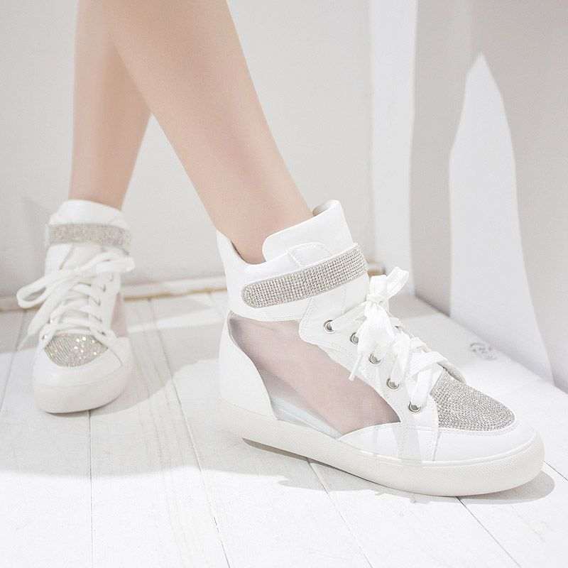 2014 Special Offer Sale Spring Isabel Marant Style Wedge Sneakers Shoes Platform Casual Boot $42.00