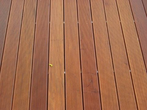 Ipe Is The Most Durable And Tough Hardwood In The World Making It Hard To Install But Looks Awesome When Done Ipe Wood Deck Wood Deck Hardwood Floors