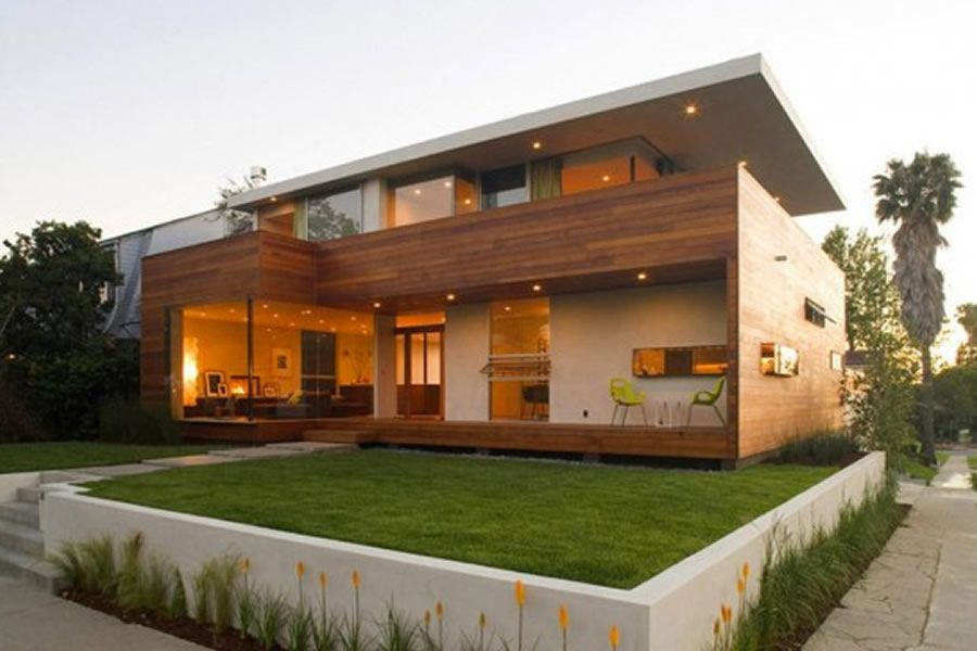 Luxury And Minimalist Home Exterior Design Of Ridgewood Residence By