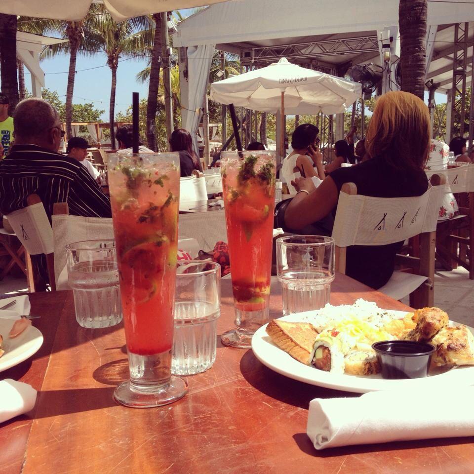 Brunch Nikki Beach Miami Beach