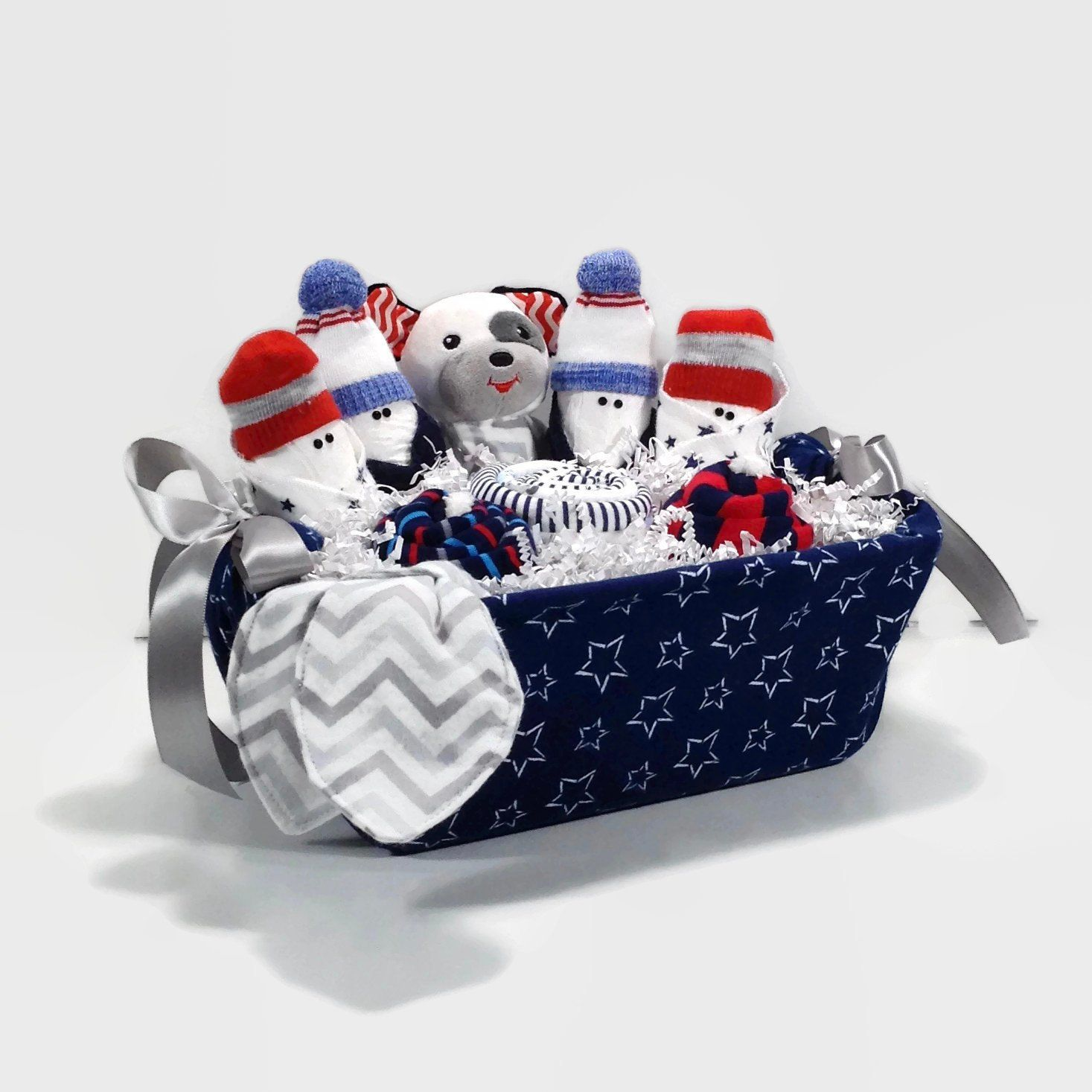 Baby boy gift basket new mom gift new baby gift basket