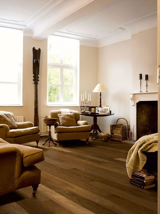 Quickstep Castello Havana Smoked Oak Matt CAS1354 Engineered Wood Flooring