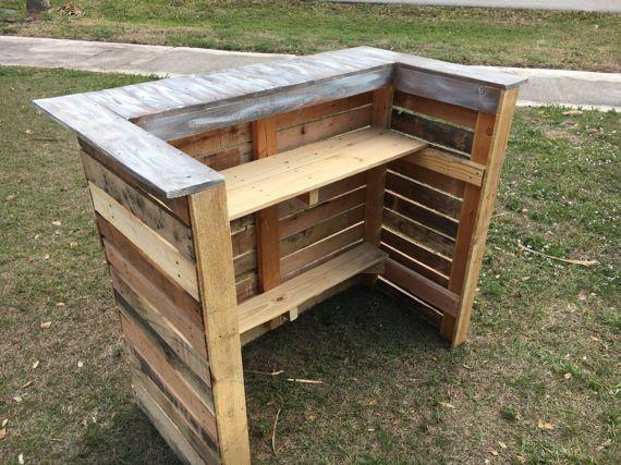 Outdoorküche Möbel Sale : Pallet bar ladentheke outdoor möbel und möbel aus paletten