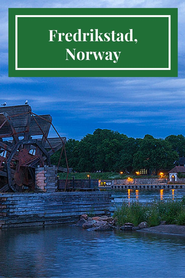 Fredrikstad Norway Outside My Front Door By Travel