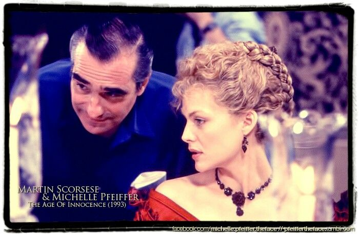 Michelle Pfeiffer directed by Martin Scorsese in The Age of Innocence