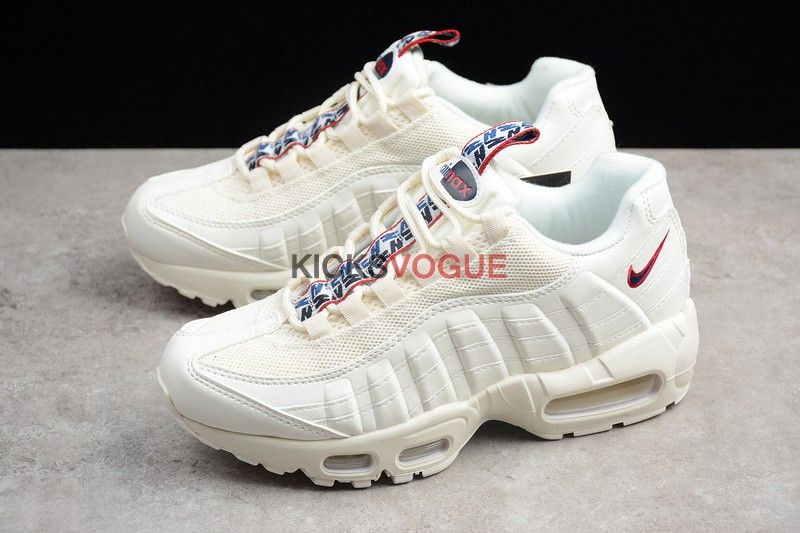 Nike Air Max 95 TT Pull Tab Pack Sail AJ1844 101 Air Max