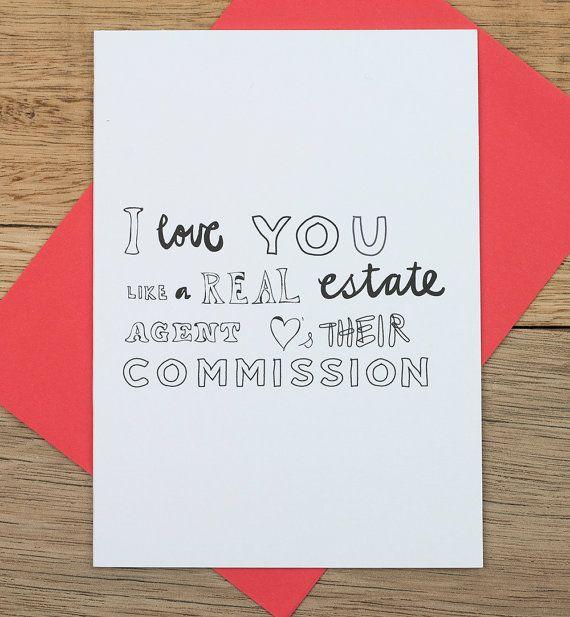 i love you like a real estate agent humble studio shop life as real estate