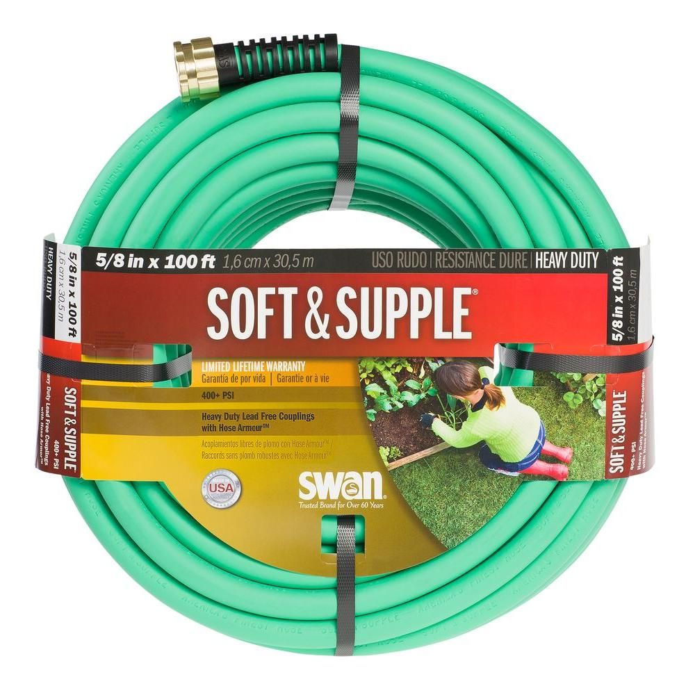 Swan 5/8 in. Dia x 100 ft. Soft and Supple Heavy Duty