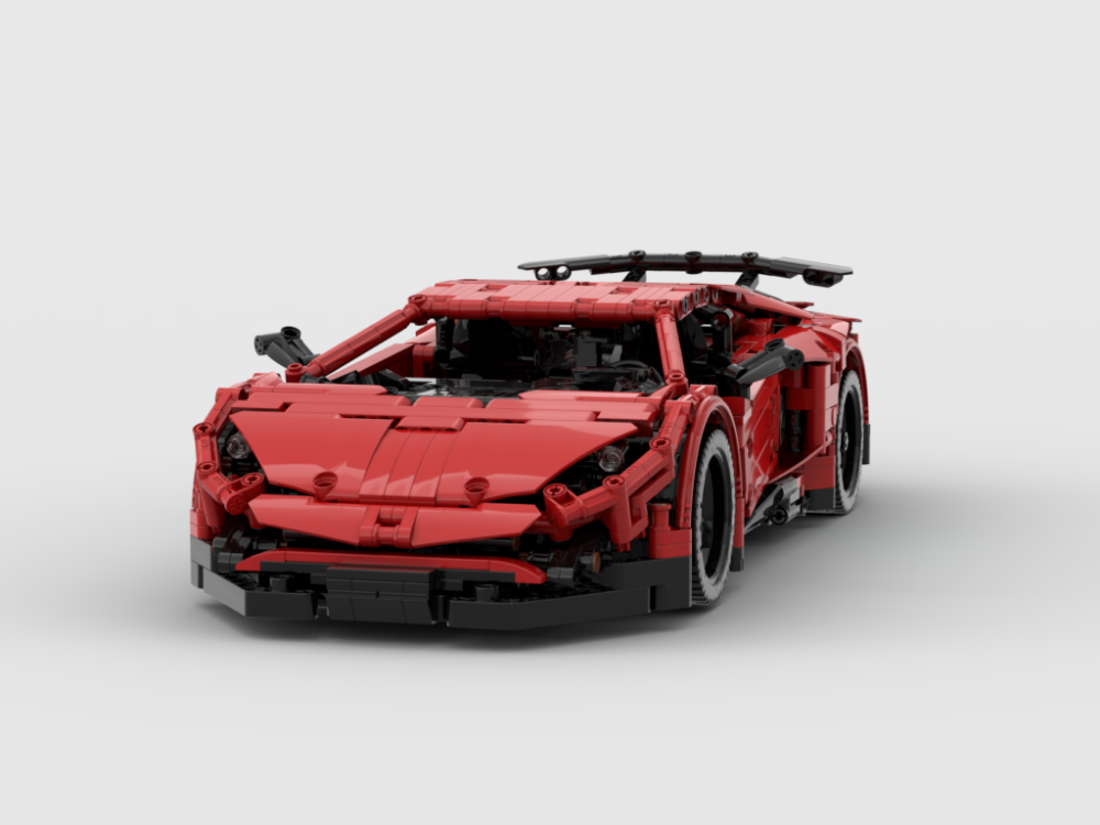 Remote Controlled Lamborghini Aventador Sv Lego Cars Lego Technic Lego Wheels