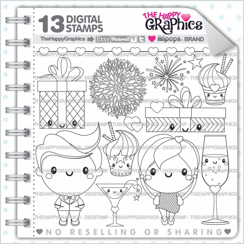 Celebration Stamp 80OFF COMMERCIAL USE Digi Digital Image