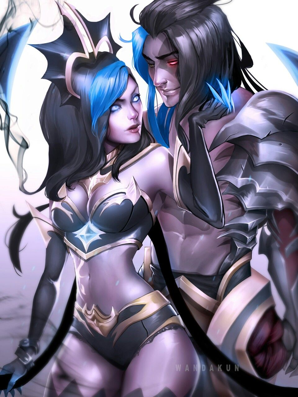 Evelynn and Kayn - League of Legends league of legends champions
