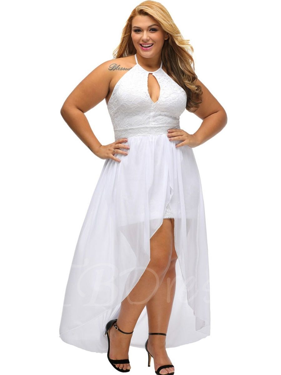 Plus Size Asym Double Layered Women 39 S Maxi Dress M Tbdress Com Plus Size Dress White Plus Size Dresses Plus Size Dresses [ 1200 x 900 Pixel ]