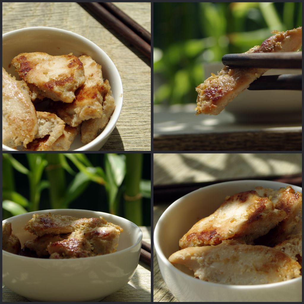 poulet citronnelle, for nuoc cham dipping sauce: 1/4 cup fish sauce, 1/2 warm water, 1/4 cup sugar and 3 tablespoon lime juice