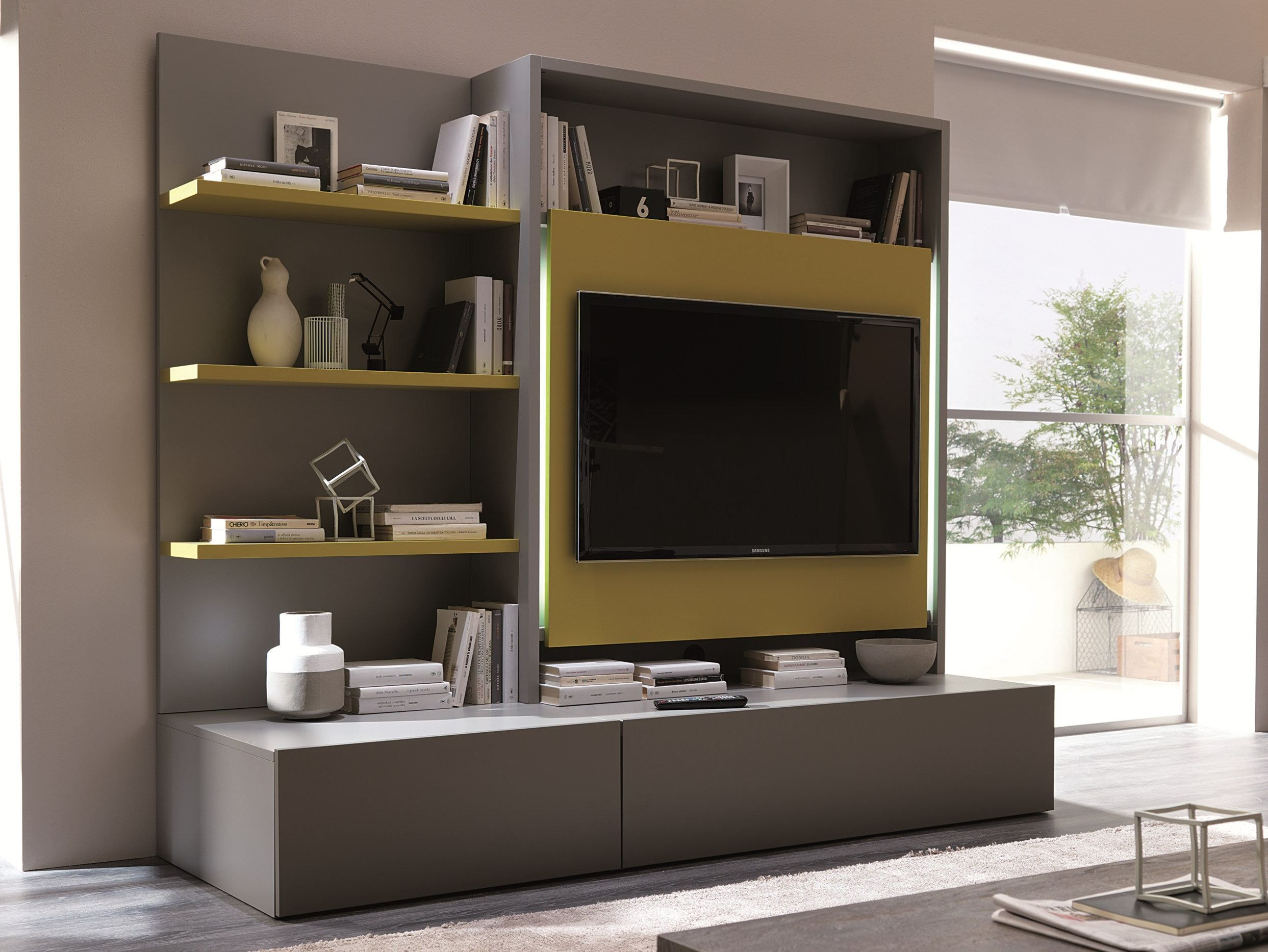 Smart Living By Ozzio Italia Design Marco Pozzoli Stefano Curioni  # Muebles New Concept