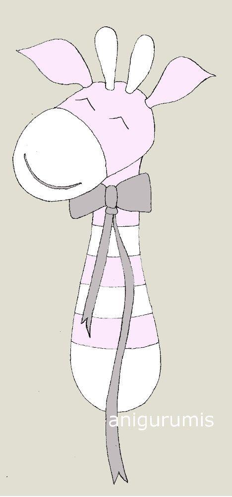 anigurumis: Equipo de sonido amigurumi con patrón Jirafa   am ...