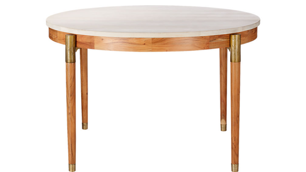 Polanco Round Dining Table Reviews Cb2 Modern Dining Table