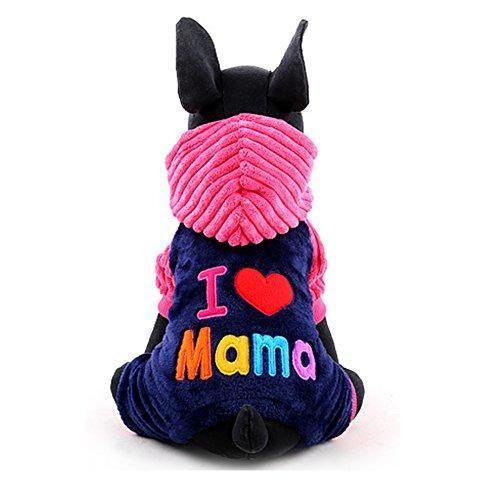 Oferta: 9.99€ Dto: -52%. Comprar Ofertas de iEFiEL Disfraces Chaqueta con Capucha Fiesta para Mascota Perros Gatos Ropa Invierno para Cachorro Perritos Rosa Oscuro L barato. ¡Mira las ofertas!