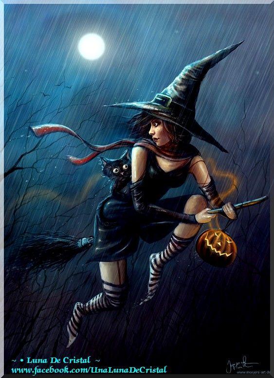 Открытку, открытки ведьмы