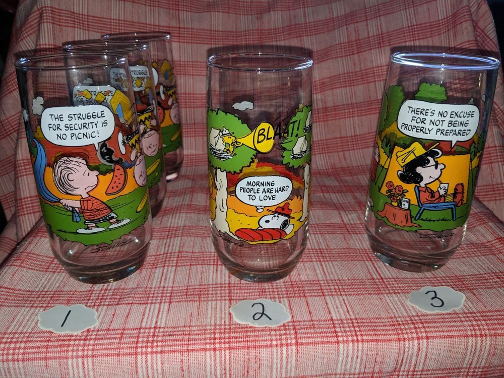 8f5f1aba4b Details about McDonald s Camp Snoopy Peanuts Collection Set of 2 ...