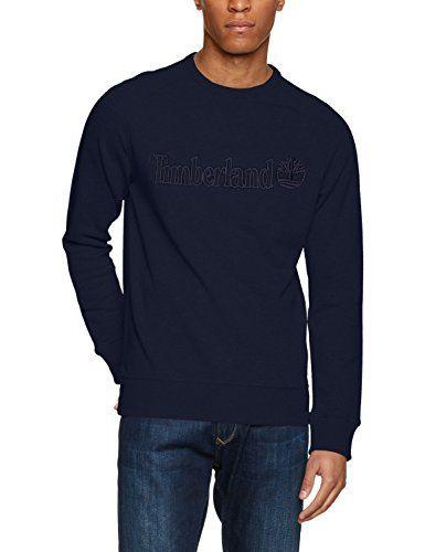 Timberland Men's CA1LSW Sports Hoodie, Blu (Dark Sapphire... https:/