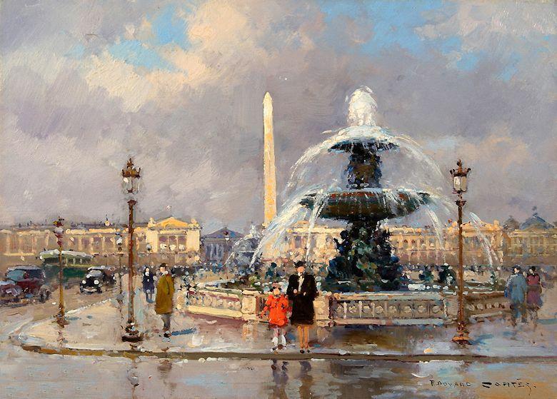 Édouard Cortès: El poeta parisino de la pintura - TrianartsTrianarts