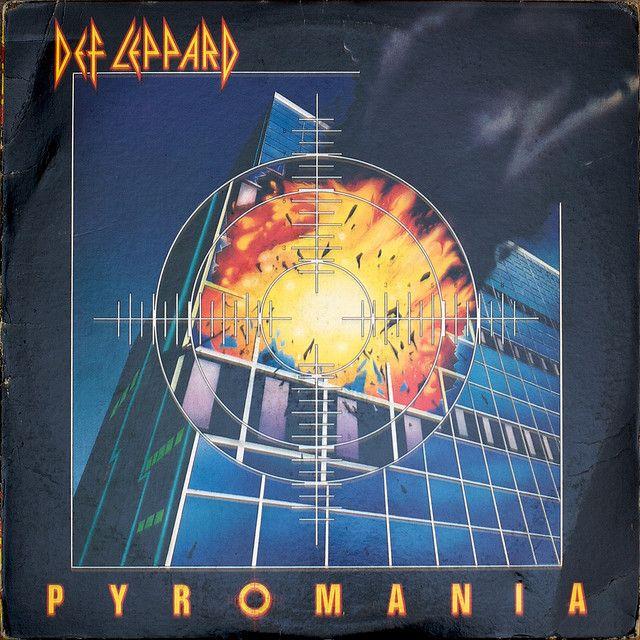 Def Leppard Pyromania Def Leppard Def Leppard Albums Music Album Covers