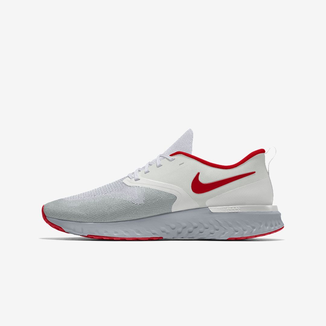 06b5311a01cd5 Nike Odyssey React 2 Flyknit By You Men s Running Shoe Size 11.5  (Multi-Color)