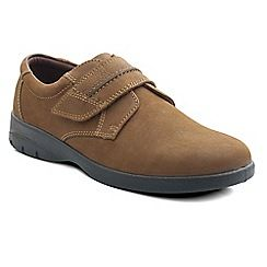 Casual shoes · Padders - Camel 'Gary' men's leather shoes