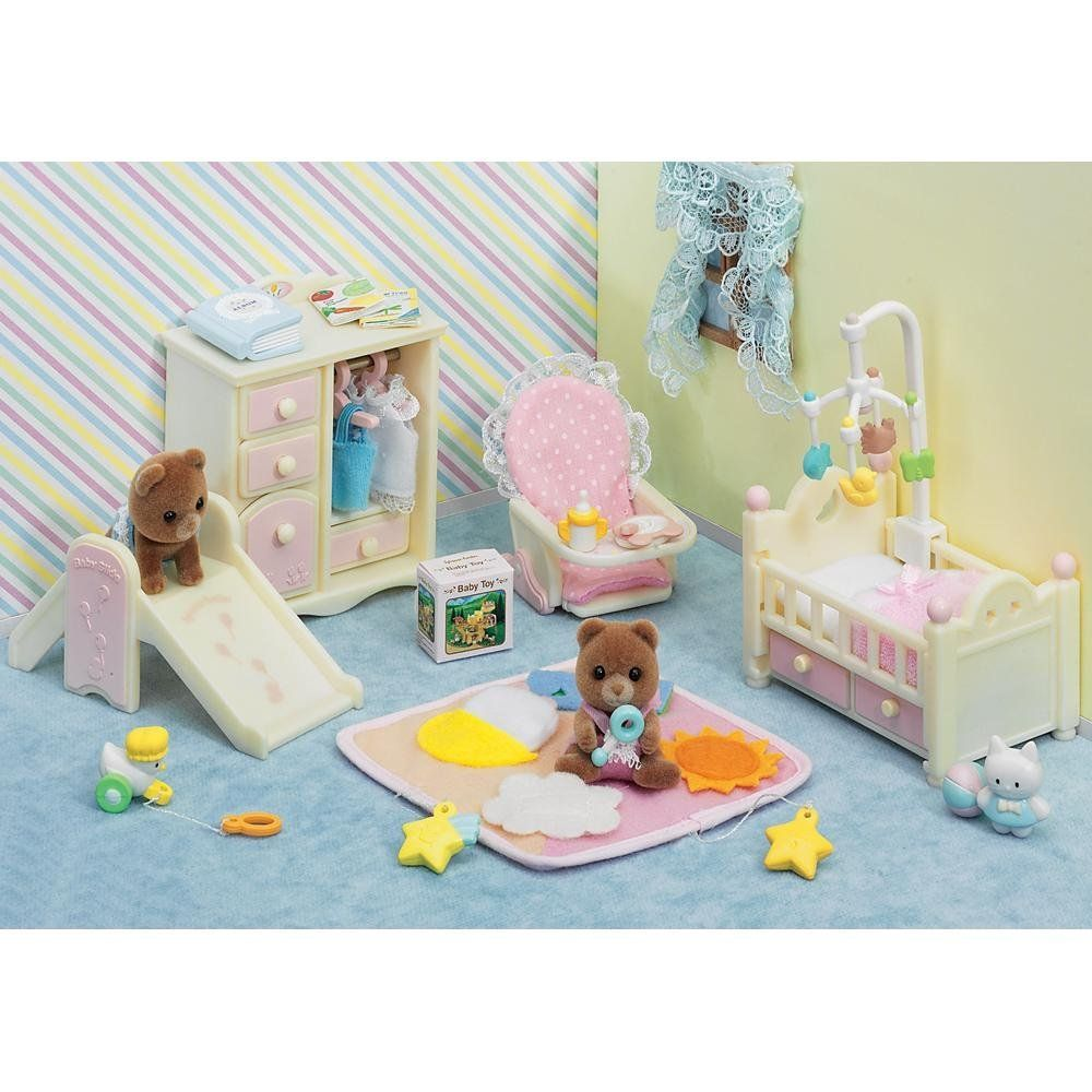 Calico Critters Baby's Bedroom Set Toys